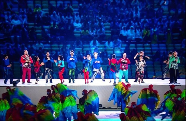 """BAIANÁ"" by BARBATUQUES 2016 Summer Olympics Closing Ceremony – Warming Up! Tokyo 2020 with JUN MIYAKE"
